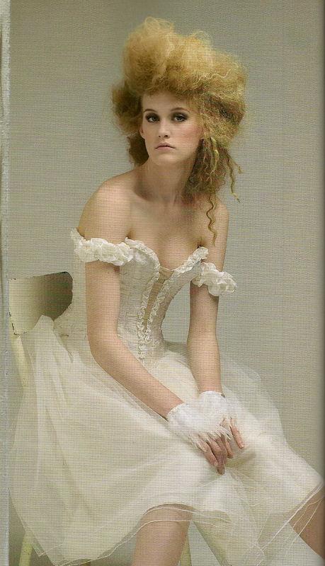 Robe de mariée Danseuse Etoile courte Agnès Szabelewski