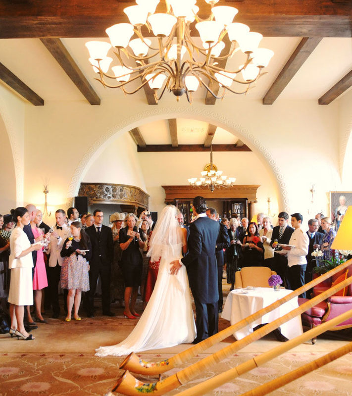 Beispiel: Ihre Hochzeitslocation, Foto: Suvretta House.