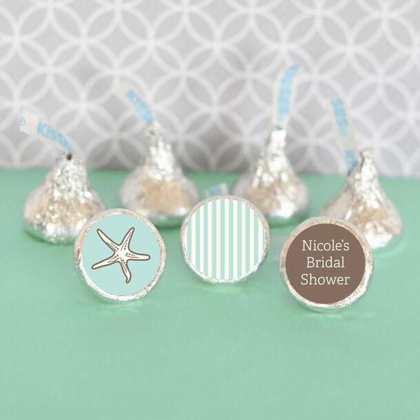 Chocolates personalizados para tu boda....muchas temáticas! como esta para boda en la playa