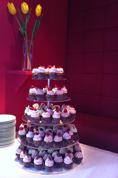 Beispiel: Cupcakes statt Torte, Foto: Cupcakes Wien.
