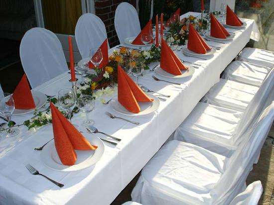 Beispiel: Wunderschöne Hochzeitsdekorationen, Foto: Dwenger Catering & Events.