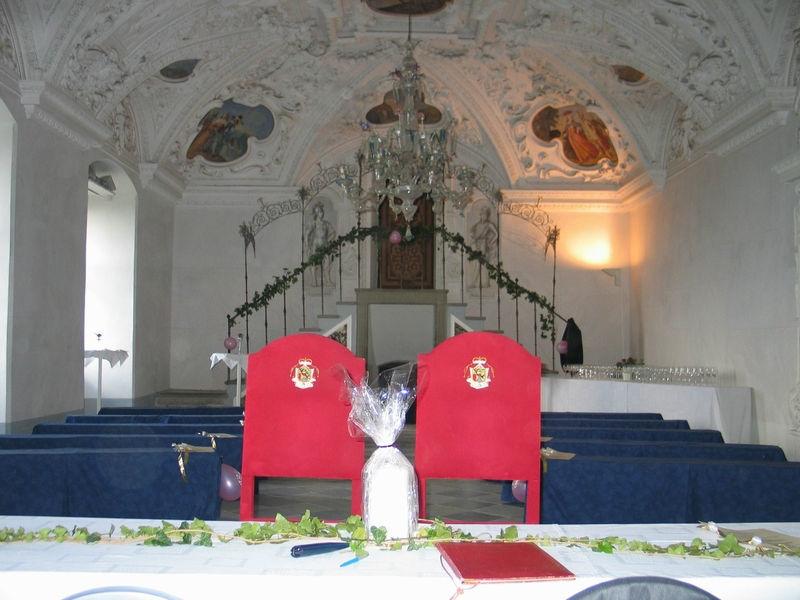 Beispiel: Trauungssaal, Foto: Burg Riegersburg.