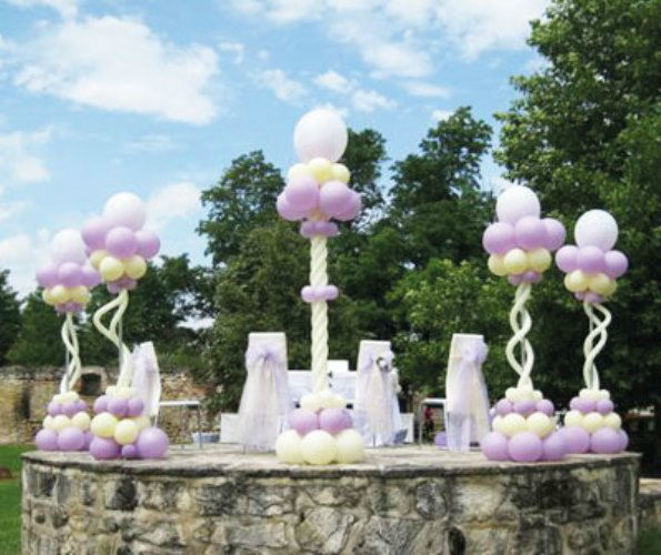 Beispiel: Dekoration für Ihre Zeremonie, Foto: Erlebnis Dekoration.