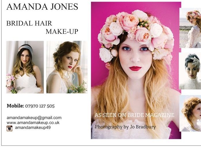 Amanda Jones Contemporary Bridal Hair & Makeup