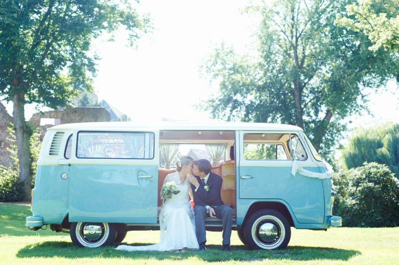 Beispiel: Portrait des Brautpaares, Foto: Katinka Stone.