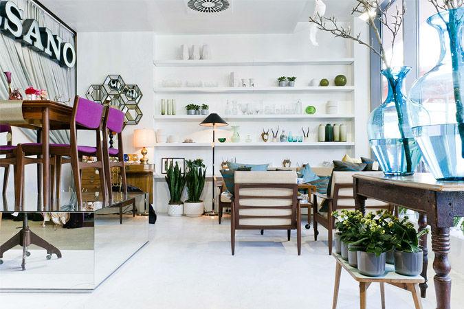 Beispiel: Ladengeschäft in Berlin, Foto: Marsano Blumen.