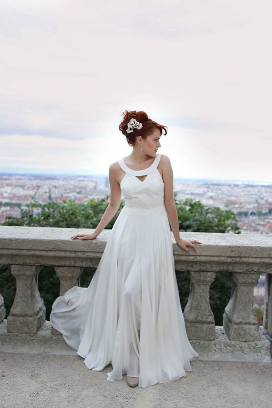 Kaa CoutureKaa Couture modèle robe de mariée GAELLE