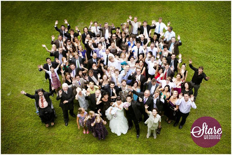 Beispiel: Fotos von der Hochzeitsgesellschaft, Foto: Stare Weddings.
