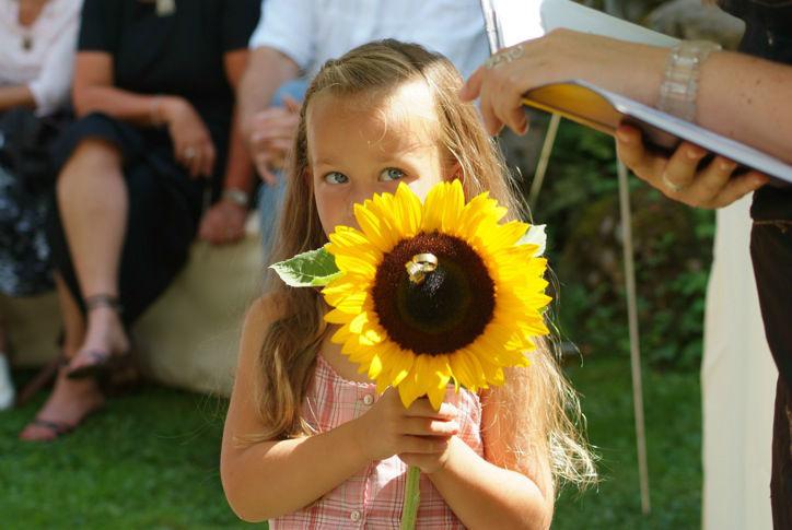 Beispiel: Trauungszeremonie, Foto: LEBENSFEIERN SONNENKLANG.