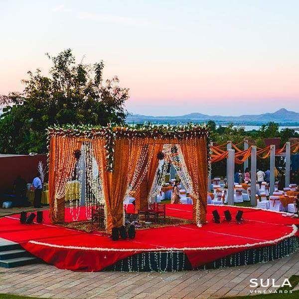 Amphitheater at Sula Vineyards