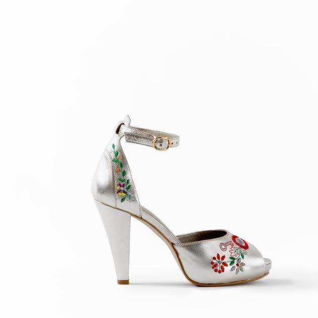 Sapatos Namorar Portugal Allium Platina