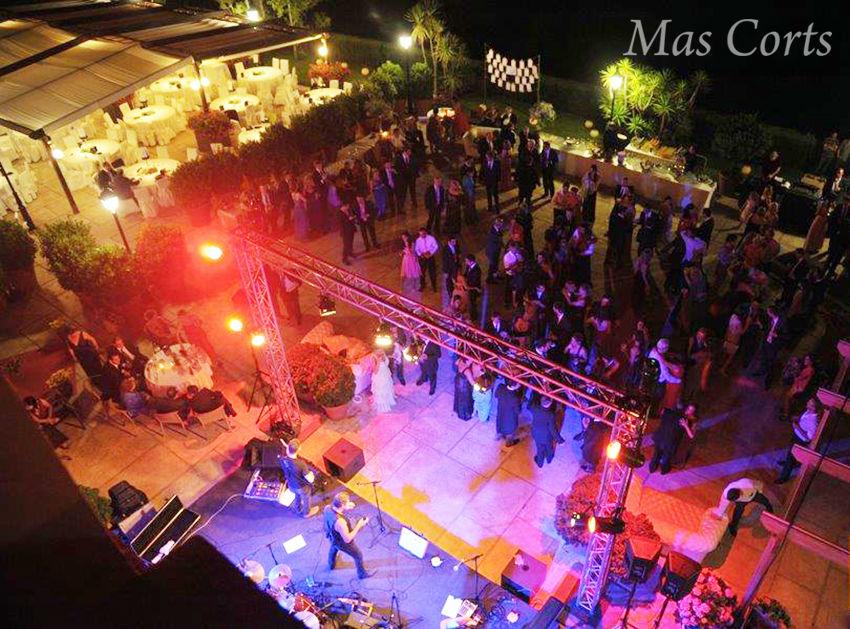 Espectáculo musical en Mas Corts