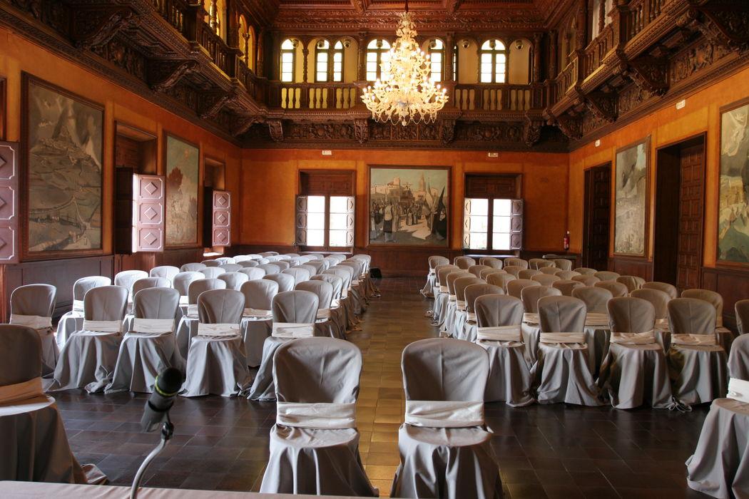 Ceremonia simbólica en la sala noble del Ayuntamiento