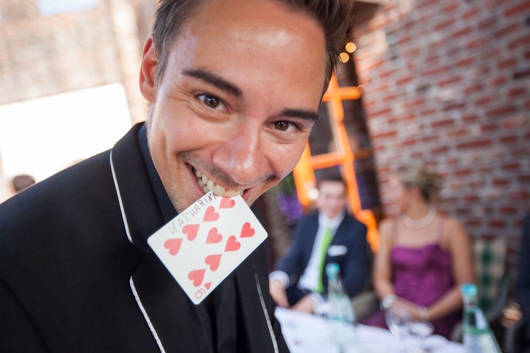 Die magische und zauberhafte Hochzeits Show