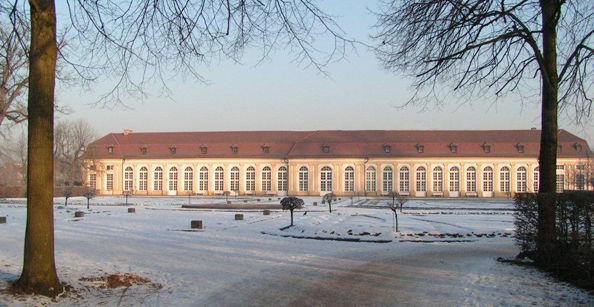 Beispiel: Orangerie im Winter, Foto: Café -Restaurant Orangerie.
