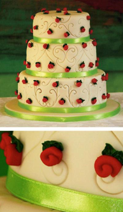 Beispiel: Feine Tortenkunst, Foto: Cupcakes Wien.