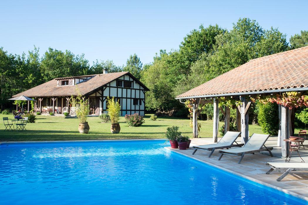 Domaine de Petiosse - La Bergerie, hébergements pour 10 à 12 personnes avec piscine chauffée  - © Alexandra Pottier