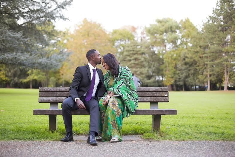 Mariage dans le parc de la mairie de Mérignac