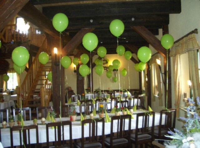 Beispiel: Feiern in der Kräuterscheune, Foto: Kräutermühlenhof Burg.