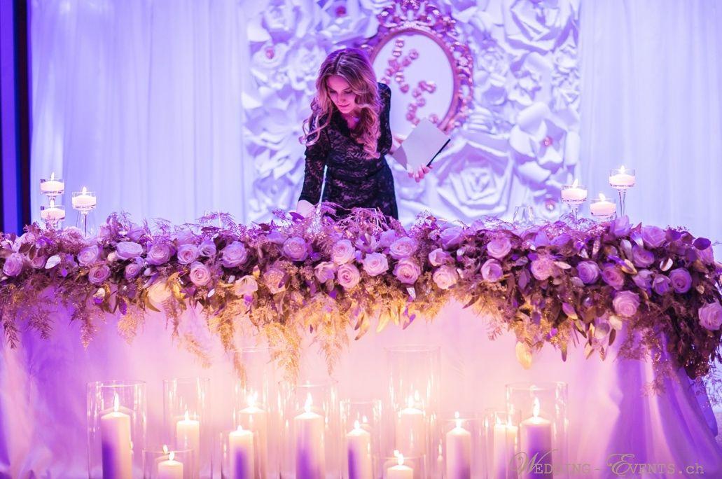 Wedding Planner & Wedding Designer www.wedding-events.ch Foto: Nora Photography
