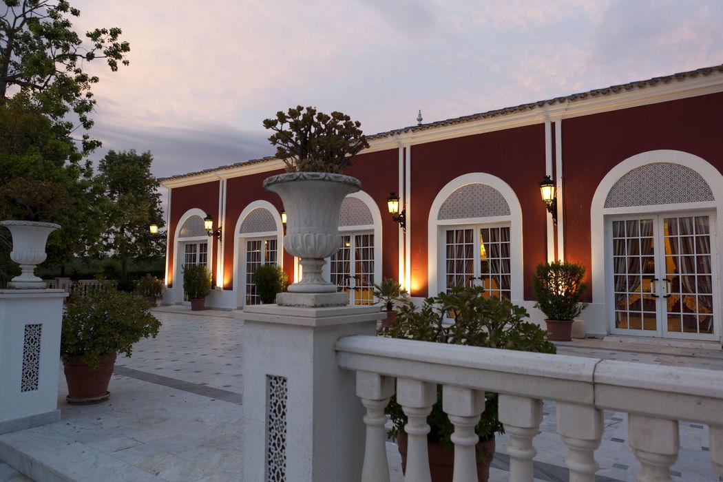Terraza Salón Azahar. Hacienda Azahares