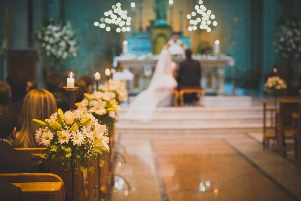 Caminos de luz al altar