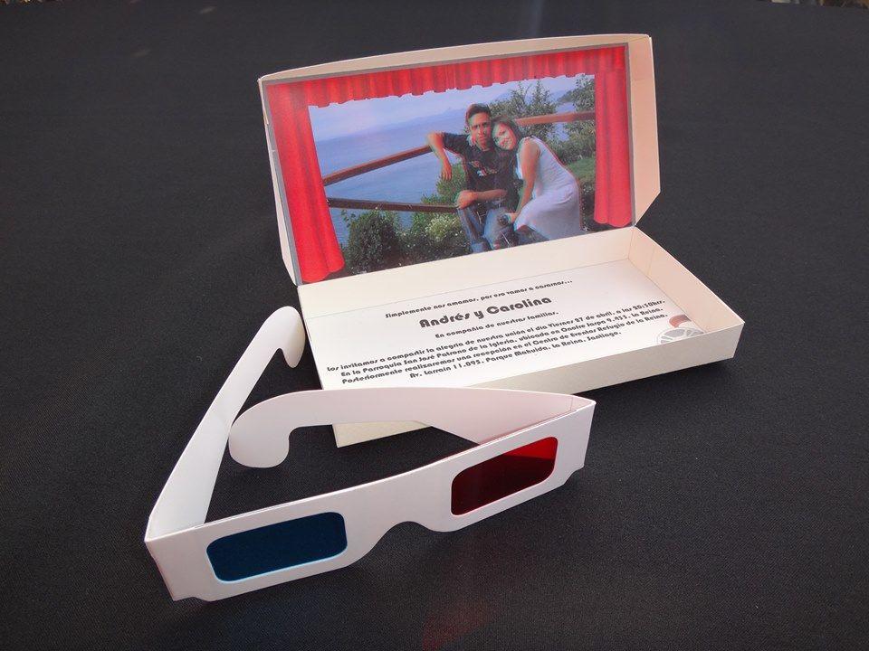 Invitación 3D RecordArte