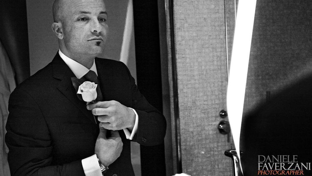 Milano. Preparativi sposo all'Hotel Boscolo