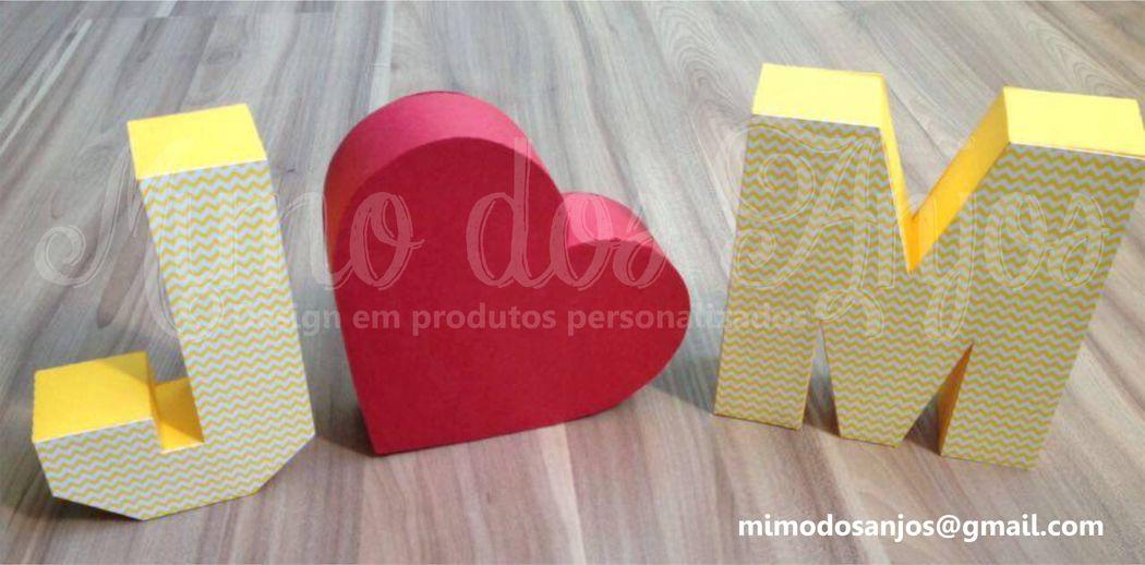 Letras 3D -- > Para as noivinhas que amam vintage ♥