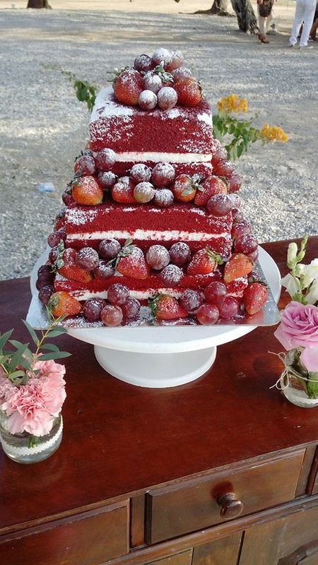 Red Velvet con Frutos Rojos