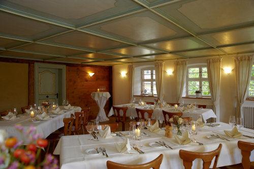 Beispiel: Tanzsaal, Foto: Gasthaus zum Raben.