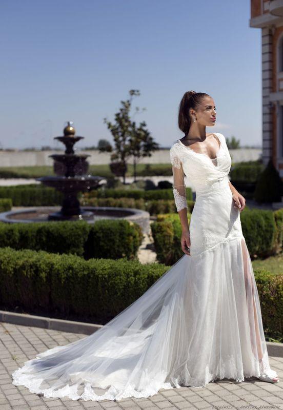 Abito da sposa modello Lorelei, collezione Romantica