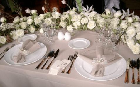 Los mejores elementos para dotar de personalidad el banquete de tu boda - Foto Dans le monde