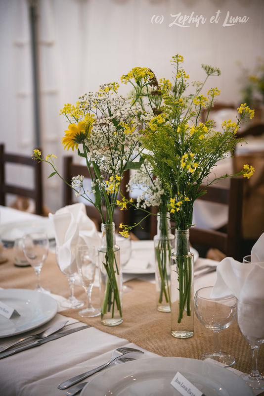 Genevieve & Jay's decoration - Rustic, country style