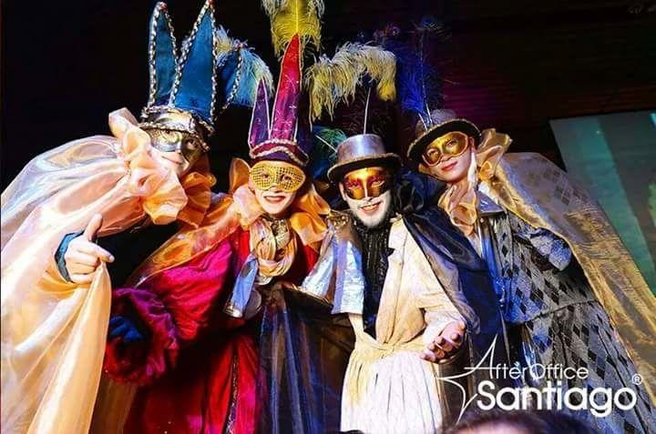 Carnaval veneciano fantasía recepción