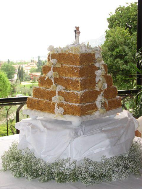 Esempi di torte nuziali