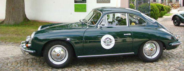 Beispiel: Porsche 356 B T6 Coupe, Foto: Roadster Reise Träume.