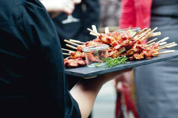 Beispiel: Snacks für Ihre Hochzeit, Foto: gelassen feiern Ihre Event Manufaktur.