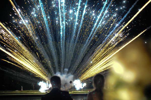 Beispiel: Feuerwerk, Foto: Hochzeitsorganisation Barbara Donabauer.