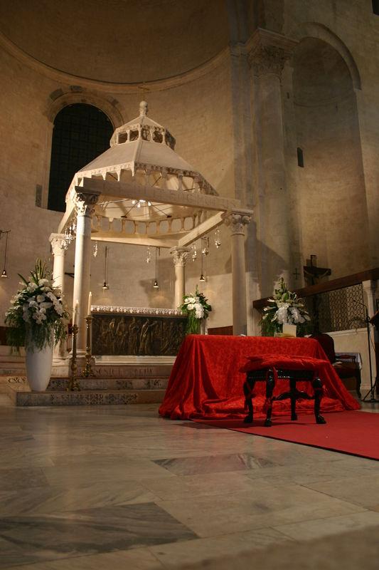 rossevents - Bari - allestimento classico rito religioso tradizionale