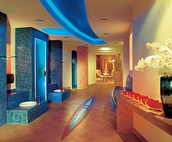 Beispiel: Saunalandschaft, Foto: Travel Charme Gothisches Haus.