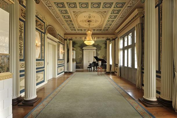 Beispiel: Schinkensaal, Foto: Schlosshotel Burg Schlitz.