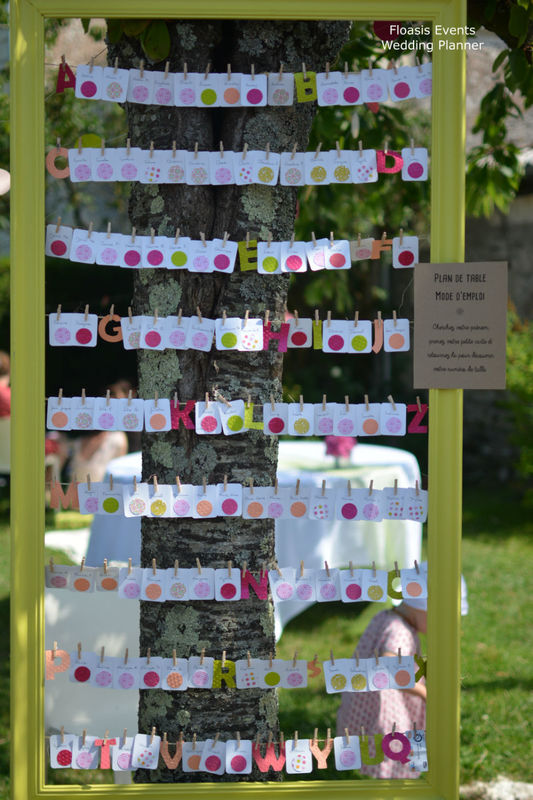 Mariage champêtre et estival - Floasis Events wedding planner
