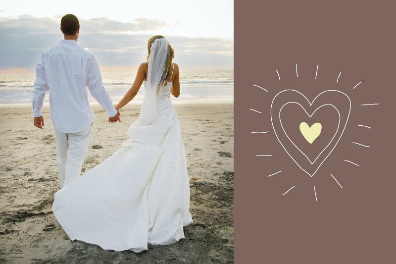 Beispiel: Hochzeitseinladung, Foto: StarCards.