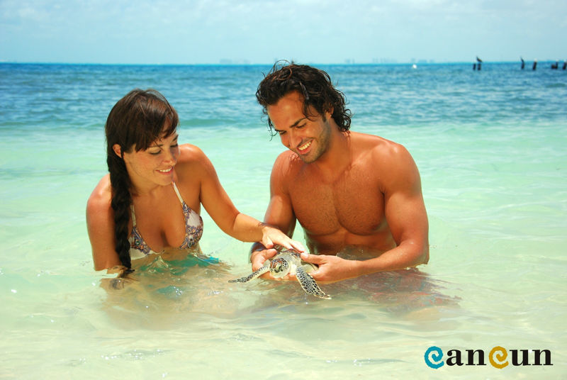 Venid a disfrutad de las hermosas playas del caribe mexicano, como Cancun, Riviera Maya o Tulum