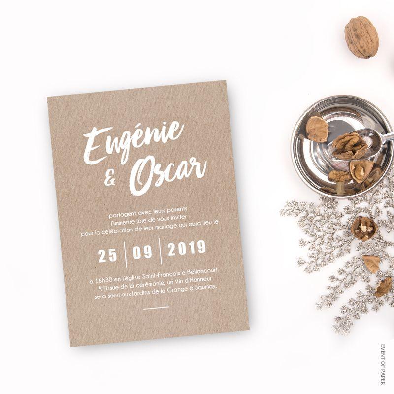 Event of Paper - Faire-Part
