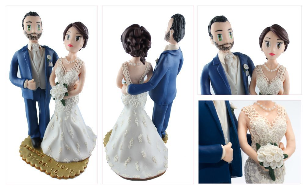 les figurines de France et Luis