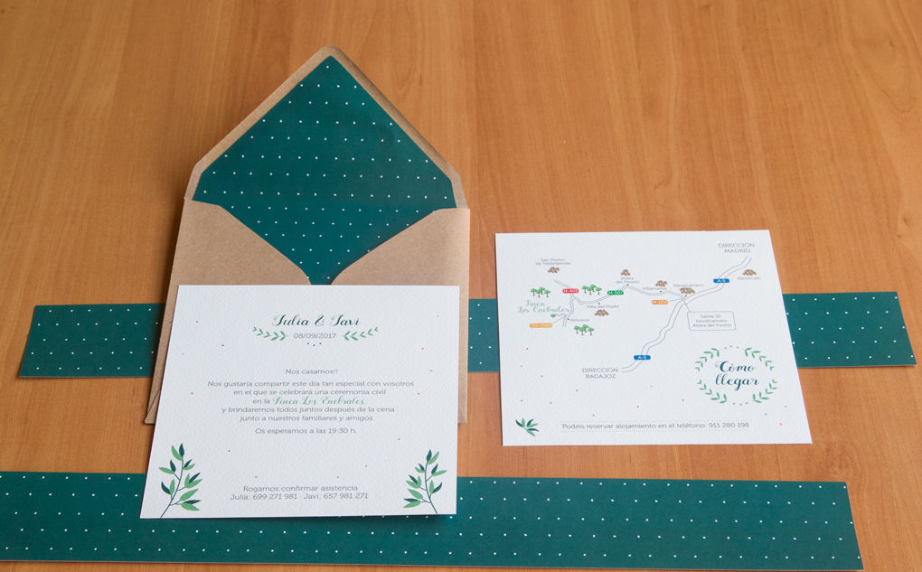 Invitación Julia y Javi