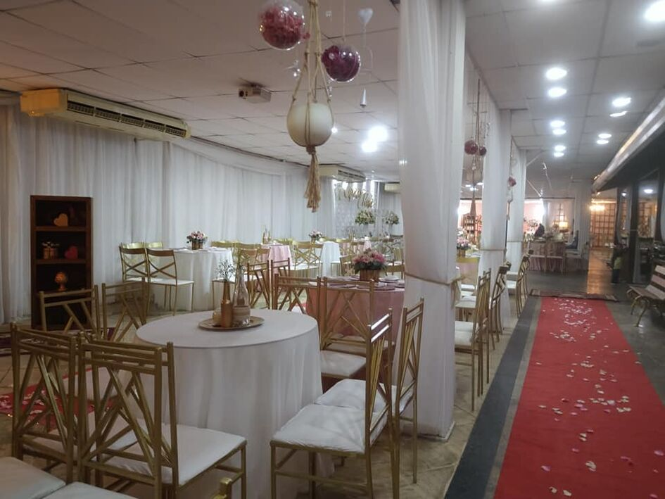 Espaço rosa casa de festas
