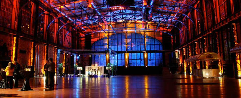 Beispiel: Alte Stahlhalle, Foto: E Werk Saarbrücken.
